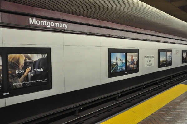 Montgomery BART station