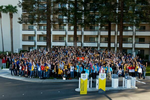 Mozilla Summit 2013 Santa Clara Group Photo