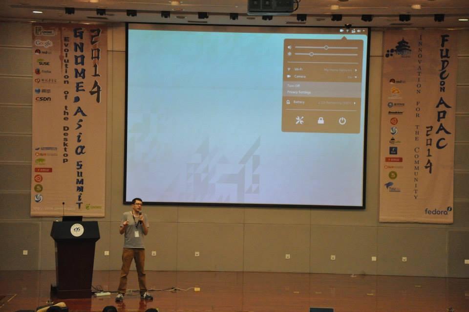 Allan Day @ GNOME.Asia Summit 2014