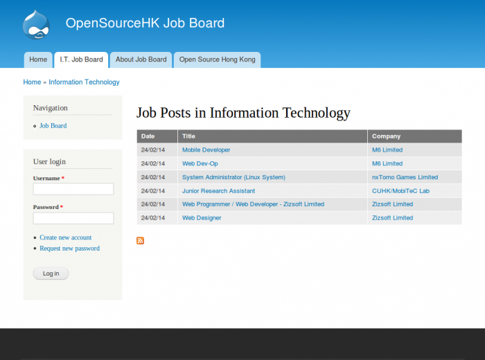 Drupal7 Job Board