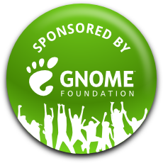 My travel is sponsored by GNOME Foundation.