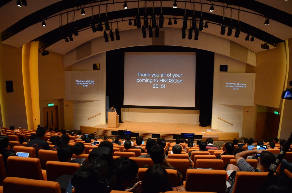 HKOSCon 2015 Closing Speech by Sammy